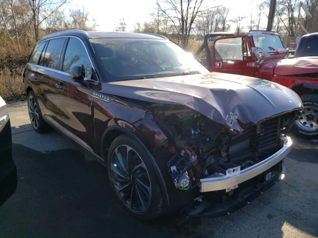Lincoln Aviator RE salvage cars for sale: 2020 Lincoln Aviator RE