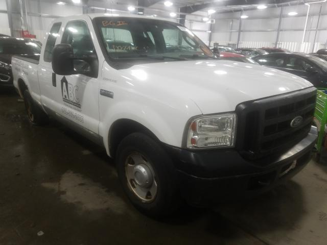 Ford F250 salvage cars for sale: 2005 Ford F250