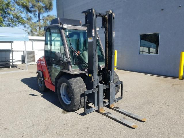 Salvage cars for sale from Copart Rancho Cucamonga, CA: 2018 Manitou Forklift