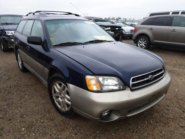 Salvage cars for sale from Copart Anderson, CA: 2001 Subaru Legacy Outback