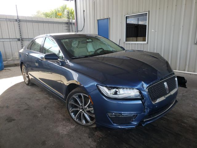 Salvage cars for sale from Copart Orlando, FL: 2018 Lincoln MKZ Hybrid