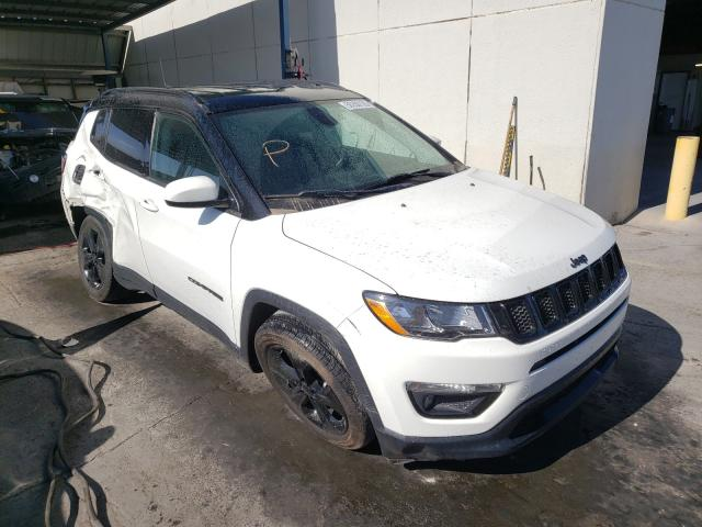 Salvage cars for sale from Copart Anthony, TX: 2018 Jeep Compass LA
