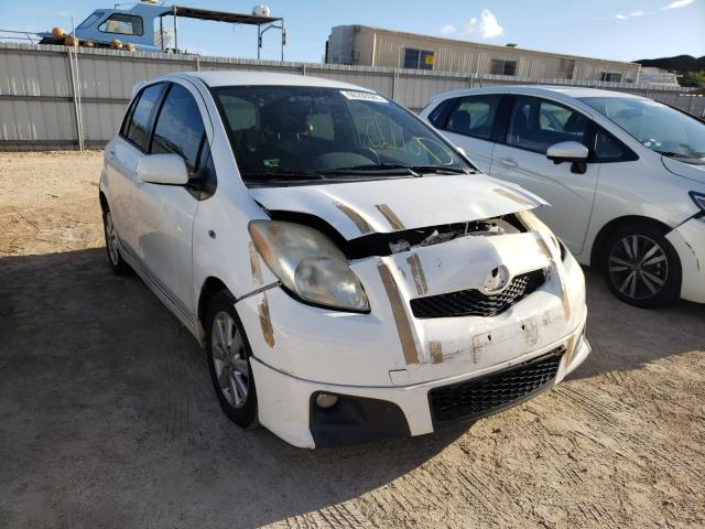 Toyota Yaris salvage cars for sale: 2010 Toyota Yaris