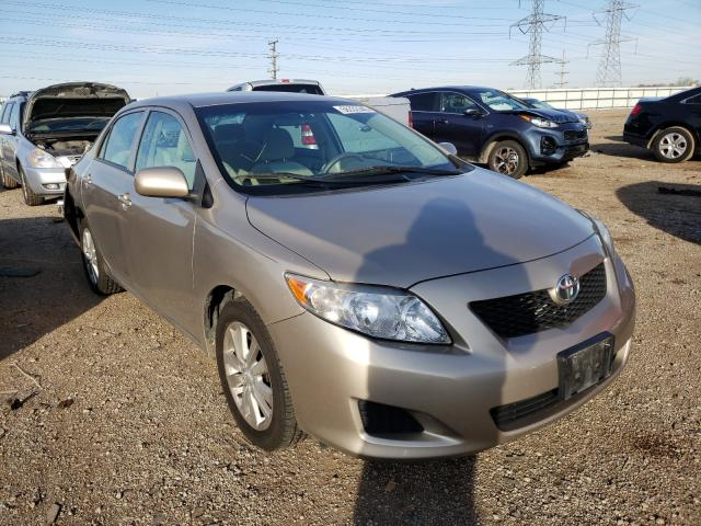 Toyota Corolla salvage cars for sale: 2010 Toyota Corolla