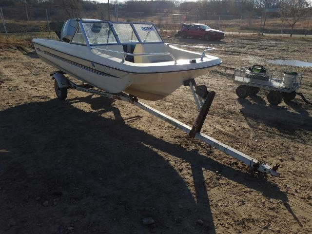 Salvage 1981 Rinker BOAT WITH TRAILER for sale