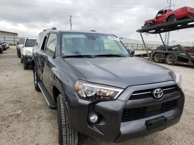 Salvage cars for sale from Copart Columbus, OH: 2020 Toyota 4runner SR
