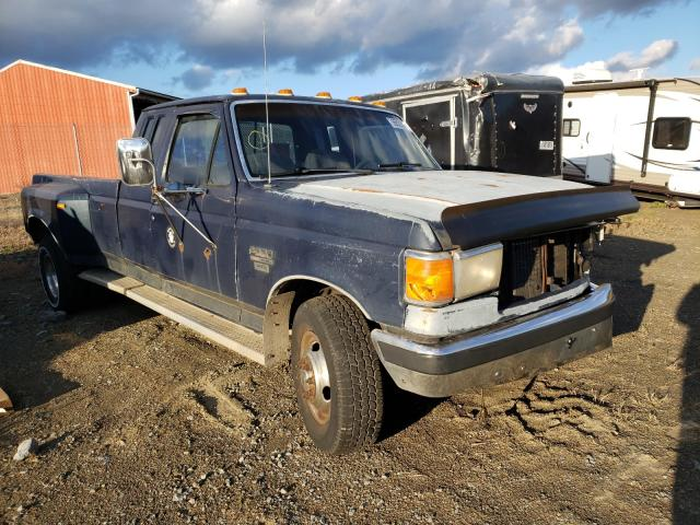 Ford F350 salvage cars for sale: 1991 Ford F350