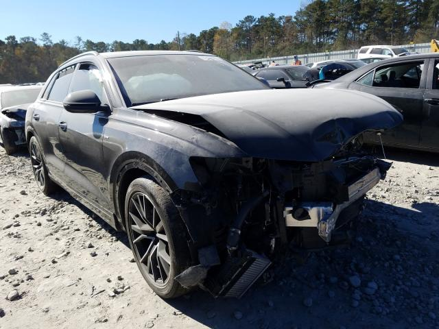 Audi Q8 Prestige salvage cars for sale: 2019 Audi Q8 Prestige