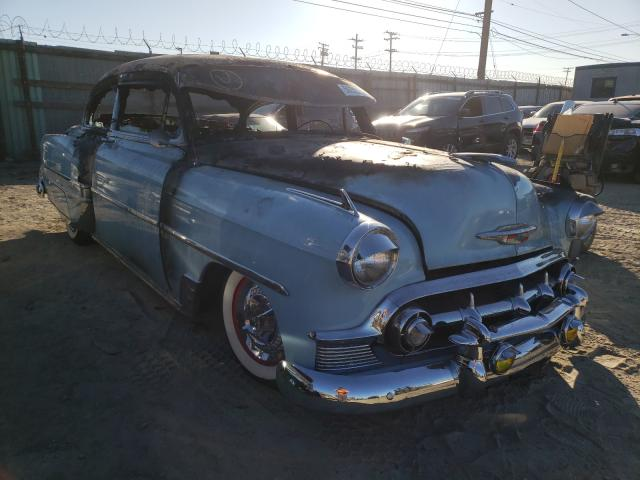 Chevrolet BEL AIR salvage cars for sale: 1953 Chevrolet BEL AIR