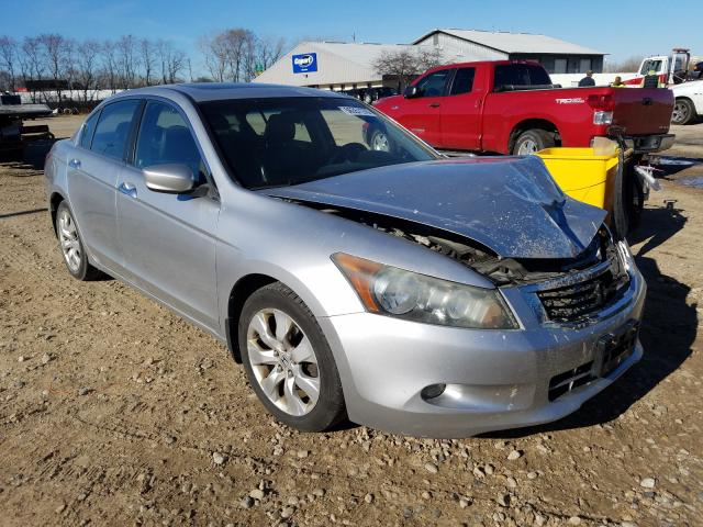 Salvage cars for sale from Copart Madison, WI: 2008 Honda Accord EXL