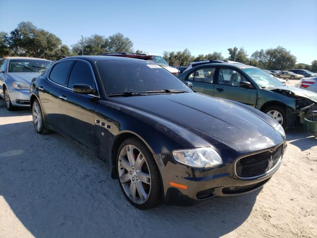Maserati Quattropor salvage cars for sale: 2007 Maserati Quattropor