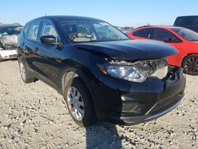 Salvage cars for sale from Copart Kansas City, KS: 2016 Nissan Rogue S