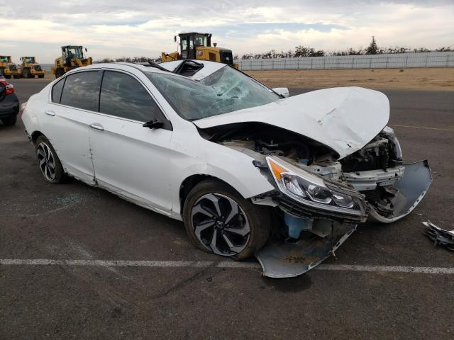 Salvage cars for sale from Copart Sacramento, CA: 2017 Honda Accord EXL