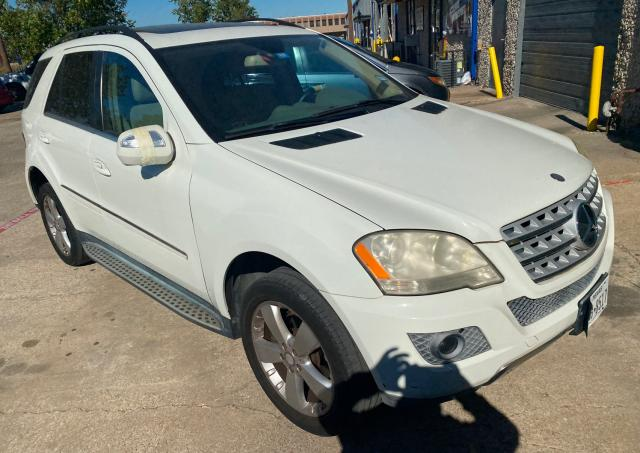 Mercedes-Benz ML 350 salvage cars for sale: 2010 Mercedes-Benz ML 350