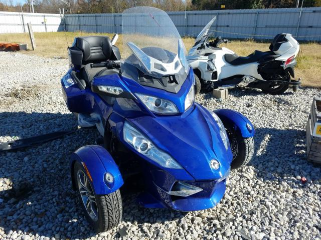 Salvage cars for sale from Copart Memphis, TN: 2012 Can-Am Spyder ROA