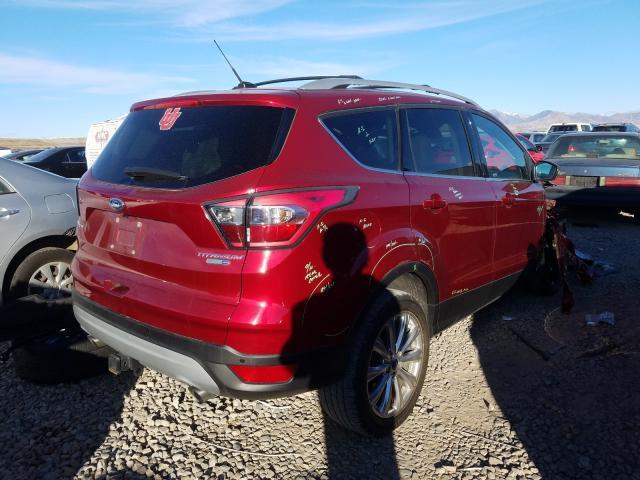 цена в сша 2017 Ford Escape Tit 2.0L 1FMCU9J9XHUA23224