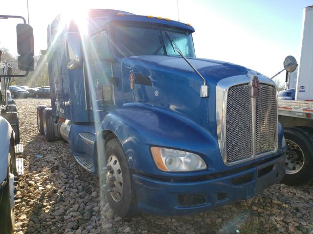 Salvage cars for sale from Copart China Grove, NC: 2010 Kenworth Construction