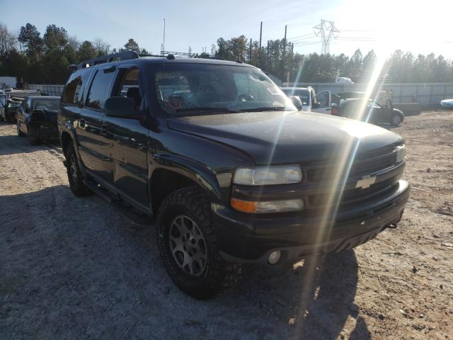Salvage cars for sale from Copart Charles City, VA: 2004 Chevrolet Suburban K