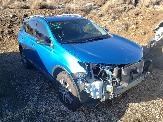Salvage cars for sale from Copart Reno, NV: 2017 Toyota Rav4 LE