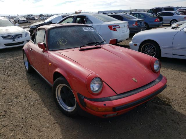 Porsche 911 salvage cars for sale: 1985 Porsche 911