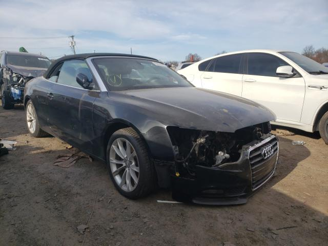 Salvage cars for sale from Copart Hillsborough, NJ: 2013 Audi A5 Premium
