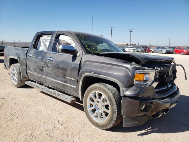 Salvage cars for sale from Copart Andrews, TX: 2014 GMC Sierra C15