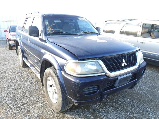 Salvage cars for sale from Copart Anderson, CA: 2002 Mitsubishi Montero SP