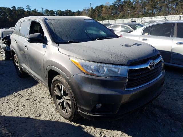 Salvage cars for sale from Copart Byron, GA: 2016 Toyota Highlander