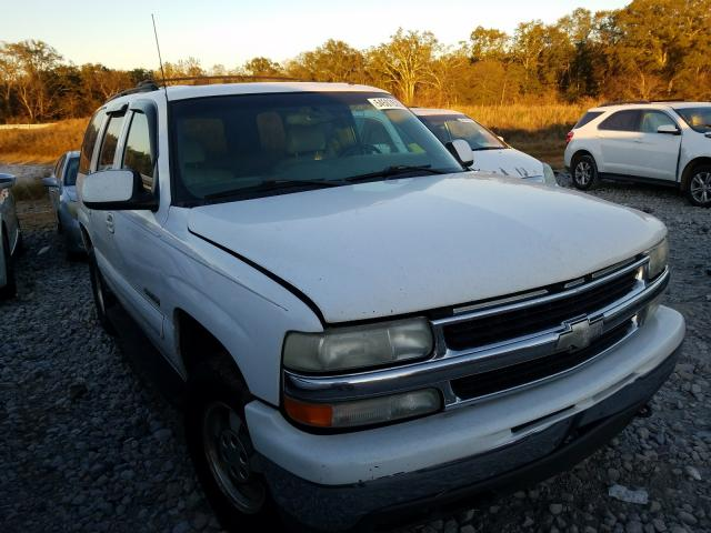 Salvage cars for sale from Copart Cartersville, GA: 2002 Chevrolet Tahoe