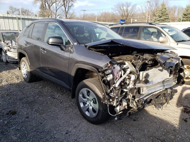 Toyota Rav4 LE salvage cars for sale: 2021 Toyota Rav4 LE