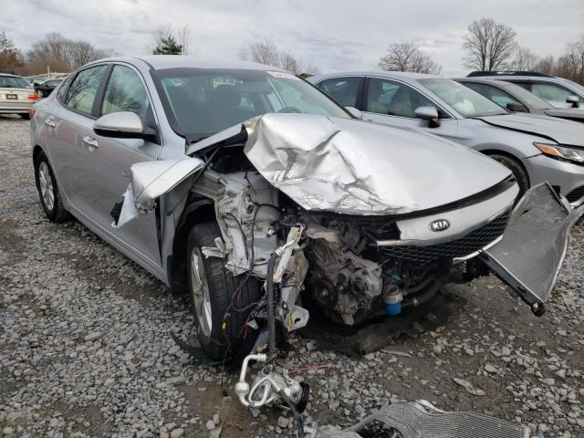 Salvage cars for sale from Copart Ebensburg, PA: 2016 KIA Optima LX