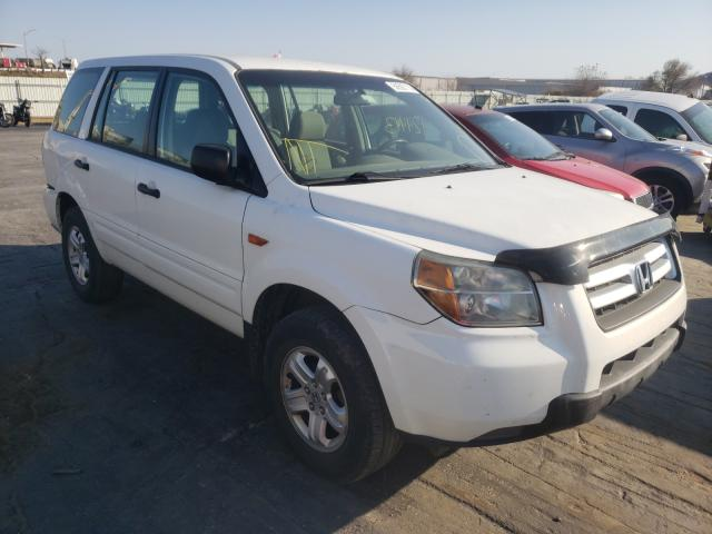 Honda Pilot LX salvage cars for sale: 2006 Honda Pilot LX