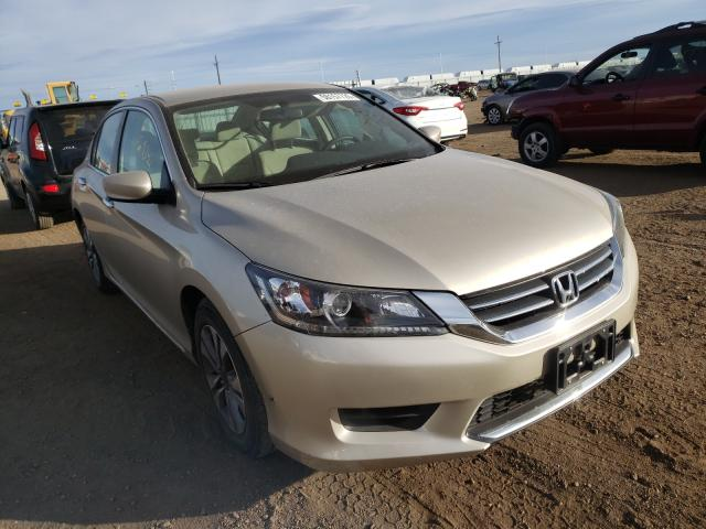 Vehiculos salvage en venta de Copart Brighton, CO: 2013 Honda Accord LX