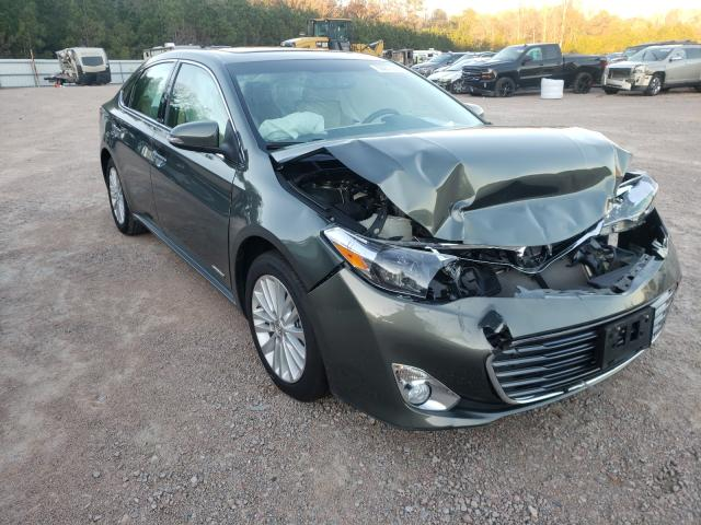 Salvage cars for sale from Copart Charles City, VA: 2014 Toyota Avalon Hybrid