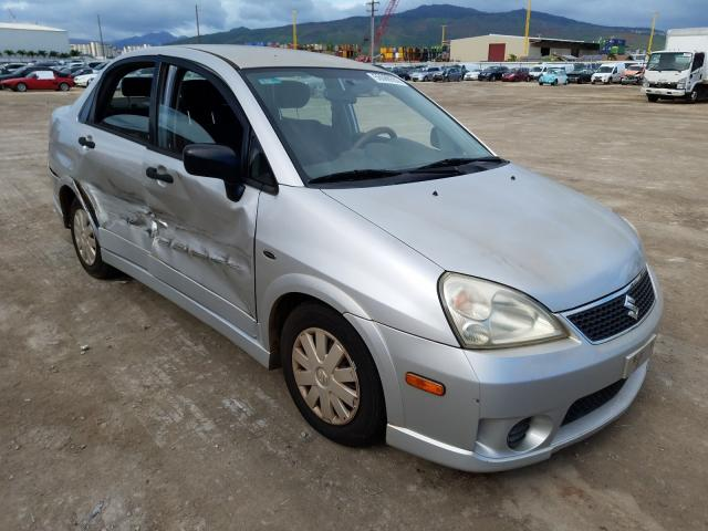 Suzuki salvage cars for sale: 2007 Suzuki Aerio