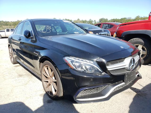Mercedes-Benz salvage cars for sale: 2016 Mercedes-Benz C 63 AMG