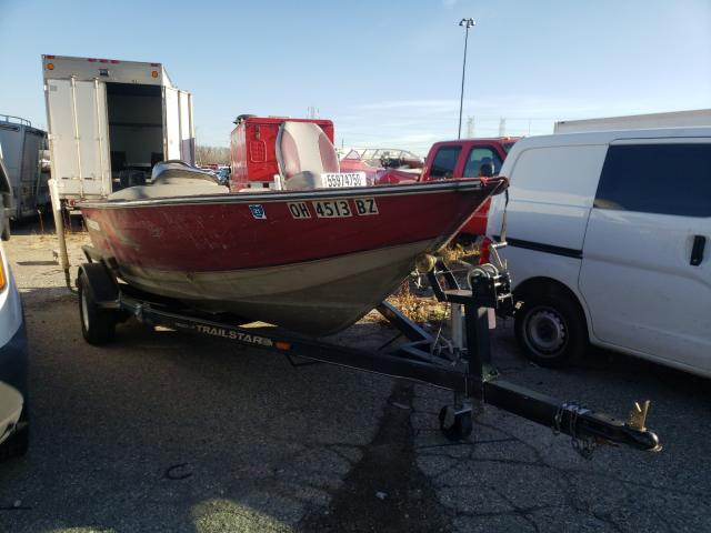 Salvage cars for sale from Copart Woodhaven, MI: 1997 Basstracker Boat