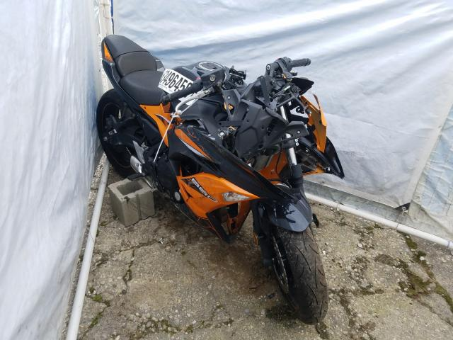 Salvage cars for sale from Copart Walton, KY: 2019 Kawasaki EX650 F