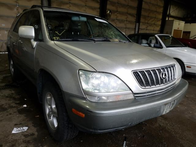 Salvage cars for sale from Copart Graham, WA: 2002 Lexus RX 300