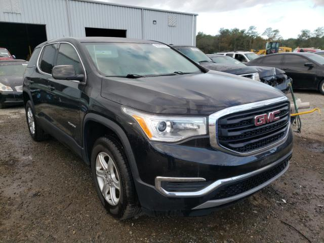 Salvage cars for sale from Copart Jacksonville, FL: 2017 GMC Acadia SLE
