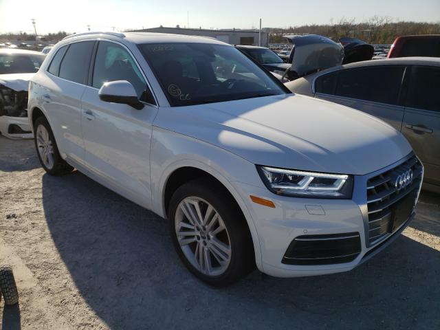 Audi Q5 salvage cars for sale: 2020 Audi Q5