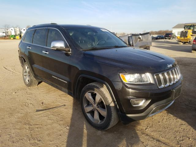 Salvage cars for sale from Copart Cicero, IN: 2014 Jeep Grand Cherokee