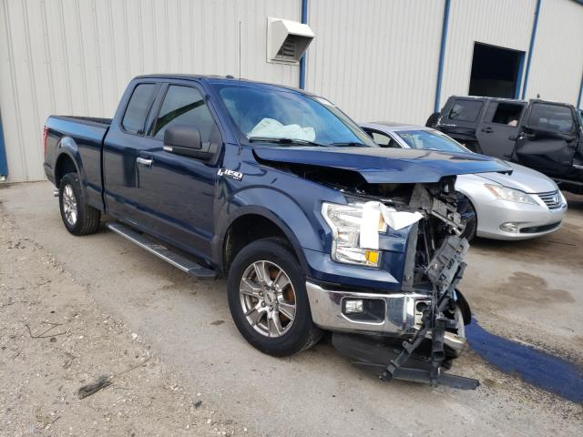 Salvage cars for sale from Copart Apopka, FL: 2015 Ford F150 Super