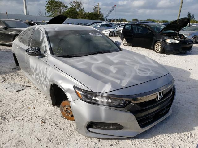 Salvage cars for sale from Copart Homestead, FL: 2018 Honda Accord Sport