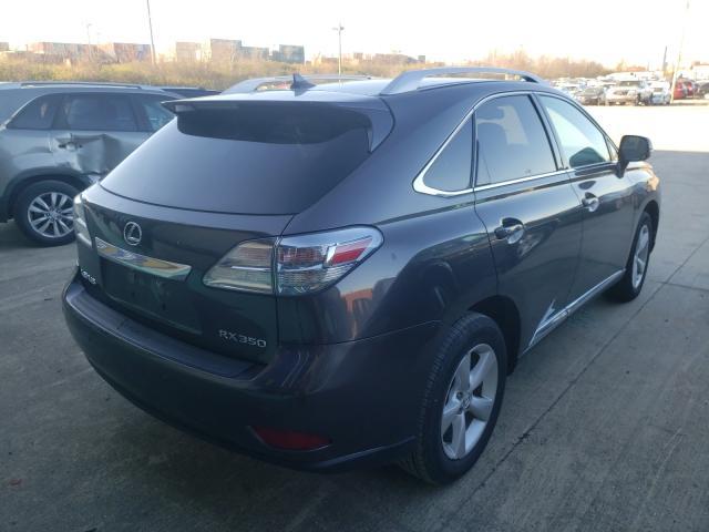 2010 Lexus RX   Vin: 2T2BK1BA0AC022033