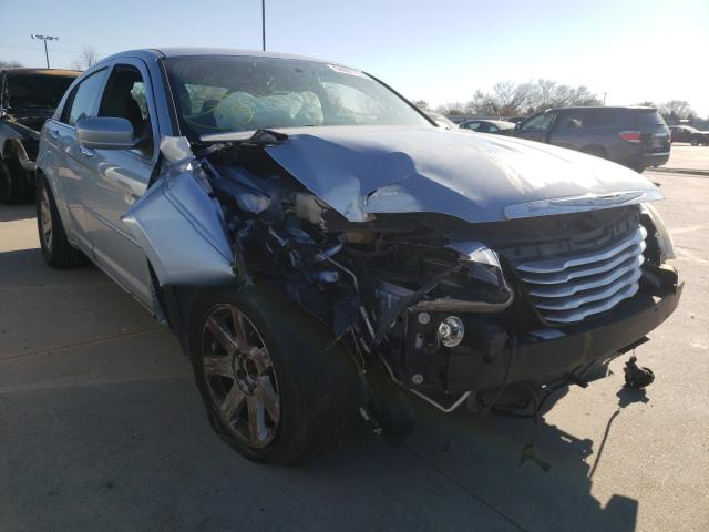 Salvage cars for sale from Copart Wilmer, TX: 2013 Chrysler 200 Limited