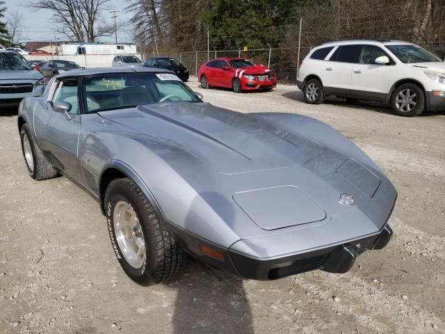 Salvage cars for sale from Copart Northfield, OH: 1978 Chevrolet Corvette