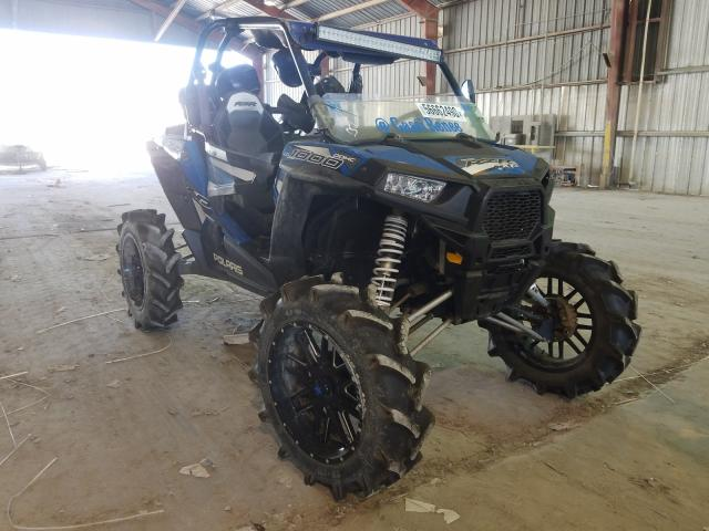 Salvage cars for sale from Copart Greenwell Springs, LA: 2016 Polaris RZR XP 100
