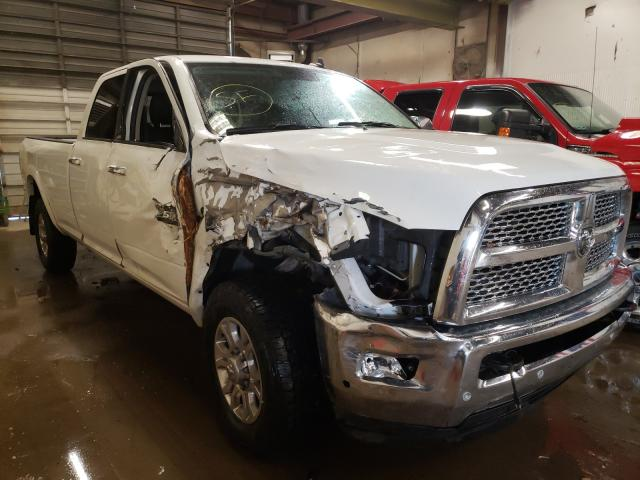 Salvage cars for sale from Copart Casper, WY: 2018 Dodge 3500 Laram