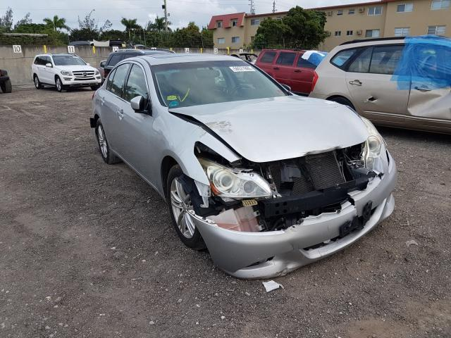 Salvage cars for sale from Copart Opa Locka, FL: 2010 Infiniti G37